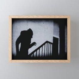 Nosferatu Classic Horror Movie Framed Mini Art Print