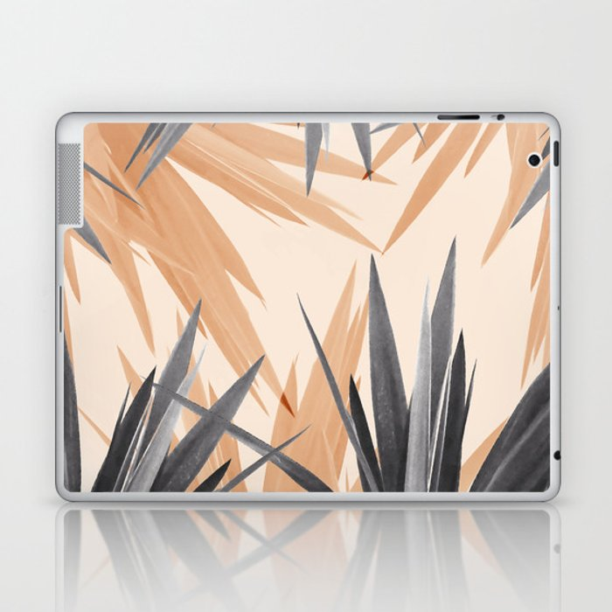 Orange Tropics Laptop & iPad Skin