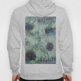 Cells - abstract, bright, RGB, acrylic piece Hoody