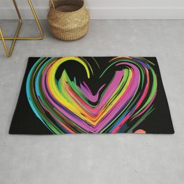 Heart of Lightness with some Darkness Rug