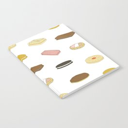 biscui - biscuit pattern Notebook
