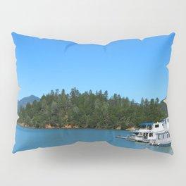 Houseboats On Lake Shasta Pillow Sham