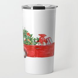 Christmas Car Travel Mug