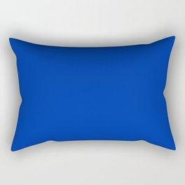 International Klein Blue Rectangular Pillow