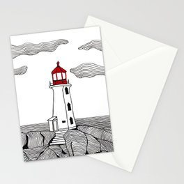 Peggy's Cove Lighthouse Stationery Cards
