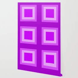 Light Purple Square Design Wallpaper