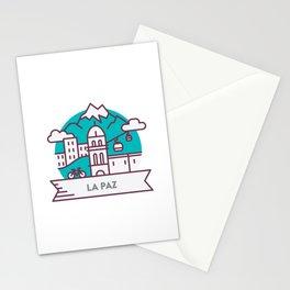 Travel: La Paz, Bolivia Stationery Cards