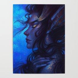 Deep Sea Mermaid Poster