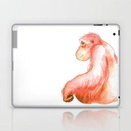 Elka, Orangutan Watercolor Laptop & iPad Skin
