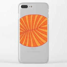 Dickinsonia Rex Clear iPhone Case