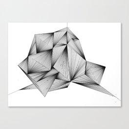 Structure (XYZ) Canvas Print