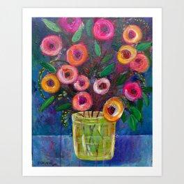 A Bouquet of Joy Art Print
