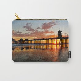 Sunset HB Pier / South Side   ( 9/7/13 ) Carry-All Pouch