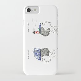 The Chaos and The Calm iPhone Case