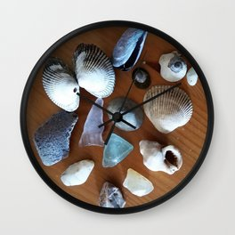 Late Winter Finds Wall Clock