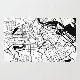 Amsterdam Minimal Map Rug