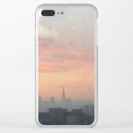 London's burning Clear iPhone Case