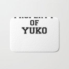 Property of YUKO Bath Mat