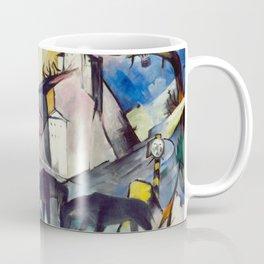 "Franz Marc ""The Unfortunate Land of Tyrol"" Coffee Mug"