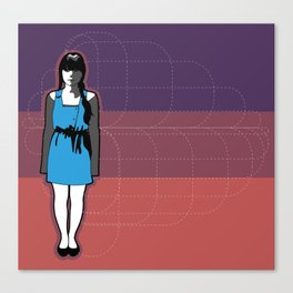 Kinetic Canvas Print