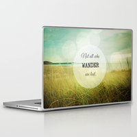 wander Laptop & iPad Skins featuring Wander by Olivia Joy StClaire