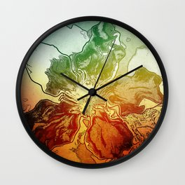 Summer sence Wall Clock