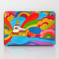 submarine iPad Cases featuring Yellow Submarine by Jaime Viens