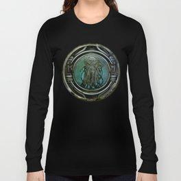 """Astrological Mechanism - Aquarius"" Long Sleeve T-shirt"