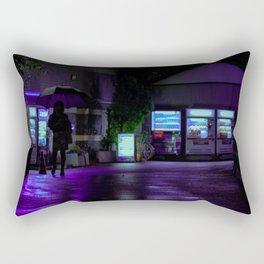 Into the Neon Rectangular Pillow