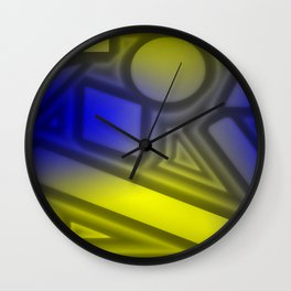 Dimmed light Wall Clock