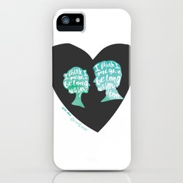 Belong With You iPhone Case
