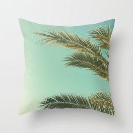 Autumn Palms II Throw Pillow