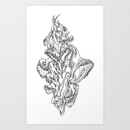 God Of The Wild Eternity Art Print