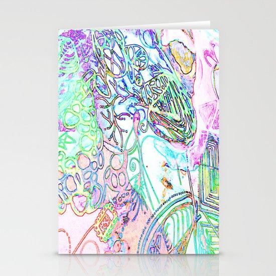 spec vertebraeyes Stationery Cards