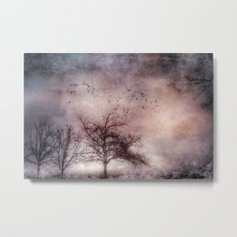 Mystical Trees Metal Print
