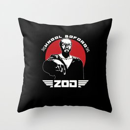 Kneel before Z v2 Throw Pillow