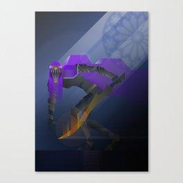 Dancer of the Boreal Valley, Dark souls 3 flat digital art series - Season I Canvas Print