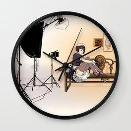 Studio Shoot (Maid Version) Wall Clock