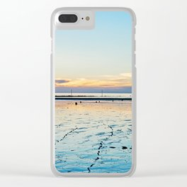 Sunset on the Horizon III Clear iPhone Case