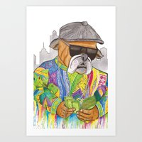 notorious Art Prints featuring Notorious by Jake Franssen