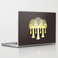 gondor Laptop & iPad Skins featuring electricitrees by freshinkstain