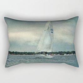 Twilight Sail Rectangular Pillow