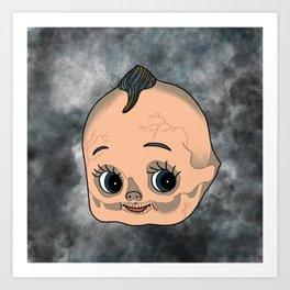 Spooky Kewpie Art Print