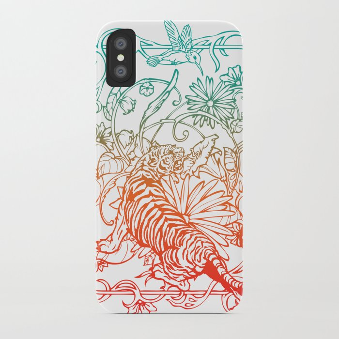 Harmony of life iPhone Case