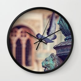 Wings at Piazza San Marco - Venice, Italy Wall Clock
