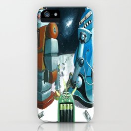 Insert battery please iPhone Case
