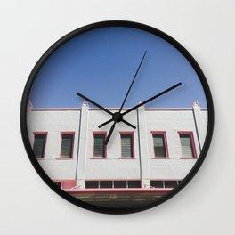 Rectangle Row - Hilo, Hawaiii Wall Clock