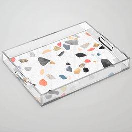 Terrazzo Treasure Acrylic Tray
