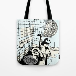 TOILET CLEANING Tote Bag