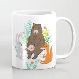 woodland tea party Coffee Mug